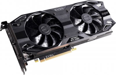 EVGA PCI-Ex GeForce RTX 2060 Super SC Ultra Gaming 8GB GDDR6 (256bit) (1680/14000) (DVI-D, HDMI, 2 x DisplayPort) (08G-P4-3067-KR)