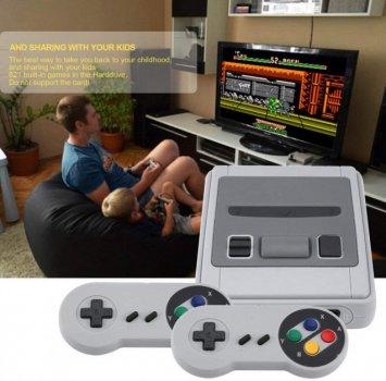 Ретро ігрова консоль приставка 620 ігор Game Box Dendy Super Mini з 2 джойстиками SFC (Super Mini)