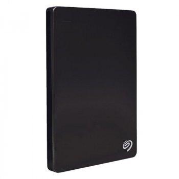 """Зовнішній жорсткий диск HDD 2.5"""" USB 3.0 500GB Seagate Backup Plus Portable Slim Black (STCD500301)"""