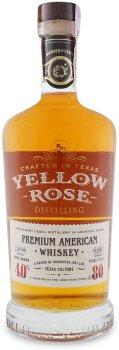 Виски Yellow Rose Premium American Whiskey 40% 0.7 л (857186006285)