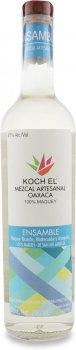 Мескаль Koch El Ensamble 3 Agaves Mezcal Artesanal 47% 0.7 л (7503023173629)