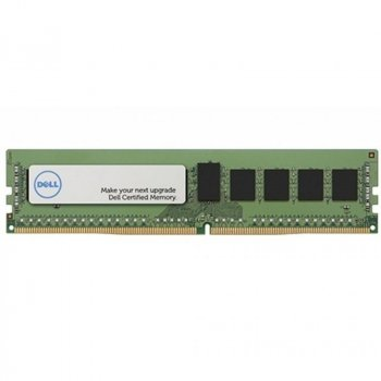 Модуль пам'яті для сервера DDR4 16GB ECC RDIMM 2666MHz 2Rx8 1.2 V CL19 Dell (370-ADND)