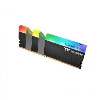 Модуль памяти для компьютера DDR4 16GB (2x8GB) 4400 MHz Toughram Black RGB ThermalTake (R009D408GX2-4400C19A)