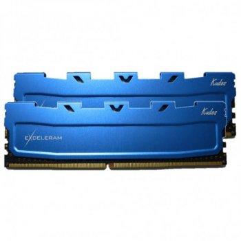 Модуль памяти для компьютера DDR4 16GB (2x8GB) 2133 MHz Blue Kudos eXceleram (EKBLUE4162115AD)
