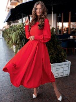 Плаття Volvis 3155 Червоне