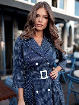 Плаття Volvis 3154 Синє