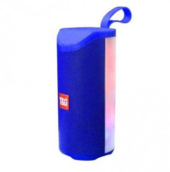 Bluetooth-колонка T-Sound TG169, c функцией speakerphone, радио, Blue