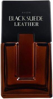 Туалетная вода для мужчин Avon Black Suede Leather 75 мл (12997)(ROZ6400101955)