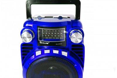 Портативний радіоприймач Golon RX BT03 Blue