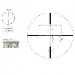 Приціл оптичний Delta DO Titanium 6-24x42 MD