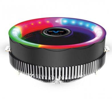 Кулер процесорний Frime Iris Algidity (FCF-IR-ALG-RGB); Intel:775/1366/1151/1150/1155/1156 AMD:AM2/AM2+/AM3/AM3+, 3pin