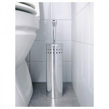 Туалетная щетка IKEA (ИКЕА) BAREN нержавеющая сталь 945.288.85