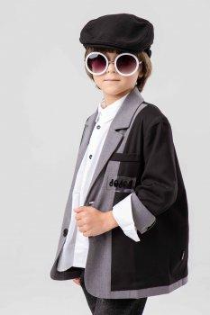 Пиджак с нашивками JO JO черный (19331308)