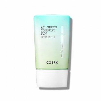 Крем COSRX успокаивающий солнцезащитный COSRX All Green Comfort Sun SPF50+ PA+++, 50 мл