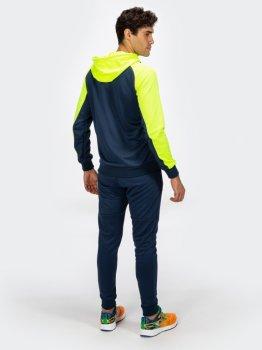 Спортивний костюм Joma Essential 101019.321 Синій із салатовим