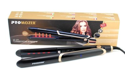 Утюжок для выпрямления волос ProMozer MZ-7053 с инфракрасным излучением 30W (2_007437)