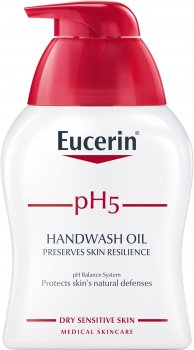 Засіб для миття рук Eucerin pH5 для сухої та чутливої шкіри 250 мл (4005800196836)