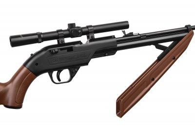 Гвинтівка пневматична Crosman кал. 4.5 мм 760 With 4 X 15 з прицілом (760X)
