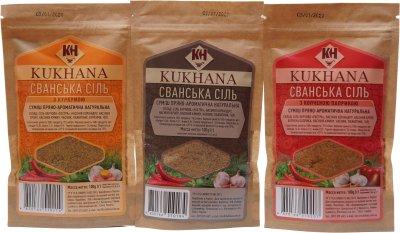 Набор пряно-ароматических смесей Kukhana Сванская соль 300 г (4820166510412)