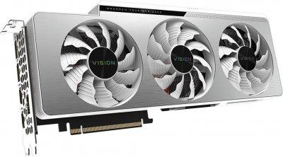 Gigabyte PCI-Ex GeForce RTX 3090 Vision OC 24GB GDDR6X (384bit) (1695/19500) (2 х HDMI, 3 x DisplayPort) (GV-N3090VISION OC-24GD)