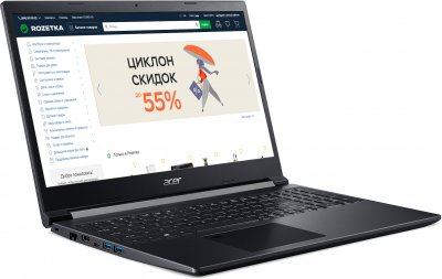 Ноутбук Acer Aspire 7 A715-75G-54HY (NH.Q9AEU.00G) Charcoal Black