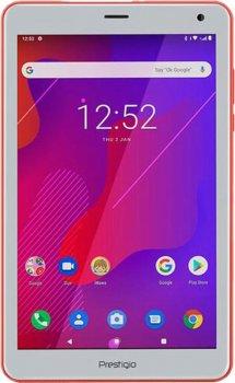 "Планшетный ПК Prestigio Q Pro 4G Red (PMT4238_4G_D_RD); 8"" (1280x800) IPS / Spreadtrum SC9832E / ОЗУ 2 ГБ / 16 ГБ встроенной + microSD до 128 ГБ / камера 2 Мп + 0.3 Мп / 4G (LTE) / Wi-Fi, Bluetooth / GPS / Android 9.0 (Pie) / 209 х 125 x 9.8 мм, 351 г / 5"