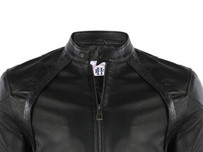 Кожаная куртка FELIX HARDY Черный (FE86556)