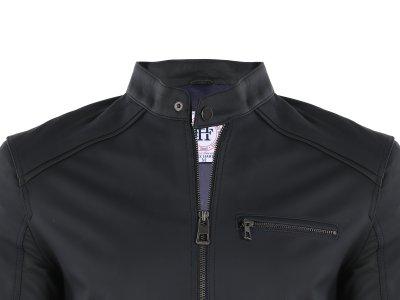 Кожаная куртка FELIX HARDY Темно-синий (FE4460376)