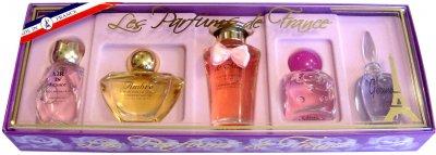 Набір мініатюр парфумерної води Charrier Parfums Parfums De France (3442070406554)