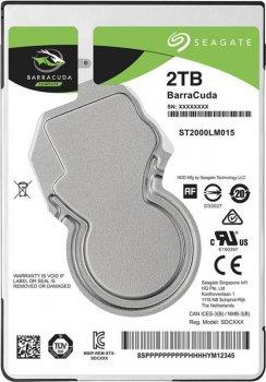 "Накопитель HDD 2.5"" SATA 2.0TB Seagate BarraCuda 5400rpm 128MB (ST2000LM015)"