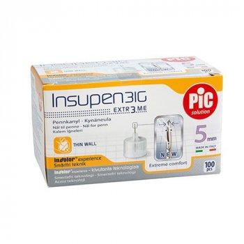 Иглы инсулиновые для шприц ручек Artsana Инсупен 5 мм (Insupen 5 mm 31G)