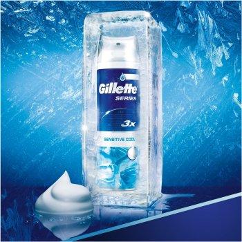 Пена для бритья Gillette Series Sensitive Cool 250 мл (7702018457984)