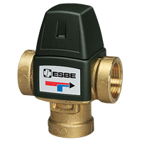 """Термостатичний змішувальний клапан Esbe ВТА 321 Rp 1/2"""" 20-43°С kvs 1.5"""