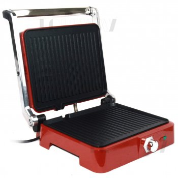 Контактний гриль прижимний електричний DSP KB1049A 1800W Червоний