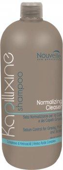 Шампунь для жирных волос с экстрактом крапивы Nouvelle Normalizing Cleanser Shampoo 1000 мл (5421) (8025337304319)
