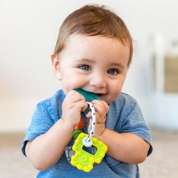 Прорізувач для зубів Infantino Ключі (216570I) (3021105165705)