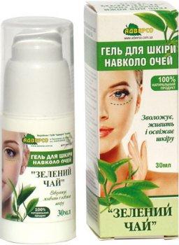 Гель для кожи вокруг глаз Адверсо Зеленый чай 30 мл (4820104013135)