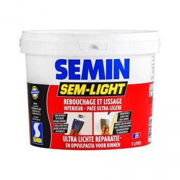 Semin Light - свехлегкая безусадкова еластична шпаклівка 1 літр