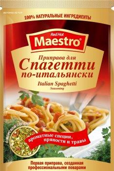 Упаковка приправы Ред Хот Маэстро для спагетти по-итальянски 25 г х 25 шт (5060140290742)