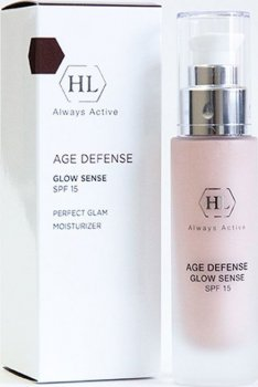 Увлажняющий крем Holy Land Age Defense Glow Sense SPF 15 50 мл (7290101328742)