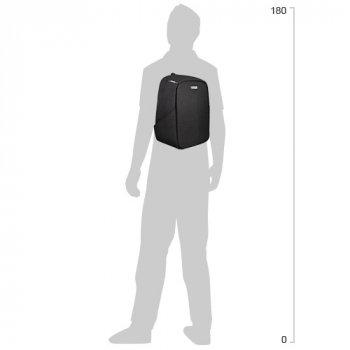 Рюкзак діловий Сool For School 40x29x15 см 17 л Чорний (O97498)