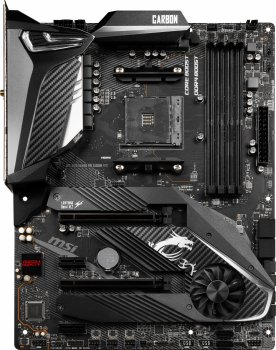 Материнская плата MSI MPG X570 Gaming Pro Carbon WiFi (sAM4, AMD X570, PCI-Ex16)