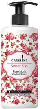 Крем для тіла Careline з ароматом мускусу та троянди 400 мл (7290102992386)