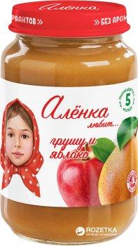 Упаковка пюре Аленка Любит Груша-яблуко 170 г х 6 шт. (4813163002431)