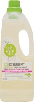 Екоконцентрат натуральний рідкий для прання вовни, шовку та делікатних тканин Green Max 1 л (99100676101)