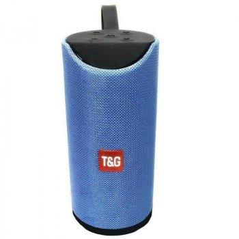 Портативна bluetooth колонка вологостійка HORTON TG-113 Blue