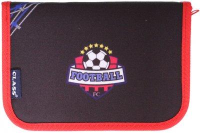 Пенал Class Football 1 отделение 1 отворот пустой (99111/8591662991116)