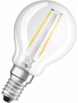 Світлодіодна лампа OSRAM Value Р40 4.5W/827 230V FIL E14 2700K (4058075288720)