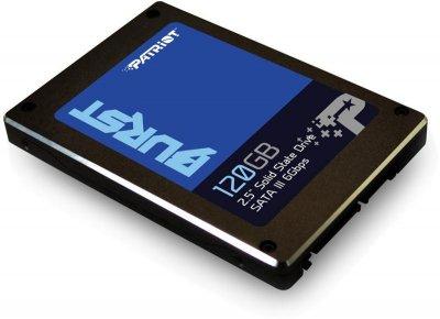 "Накопичувач SSD 120GB Patriot Burst 2.5"" SATAIII 3D TLC (PBU120GS25SSDR)"