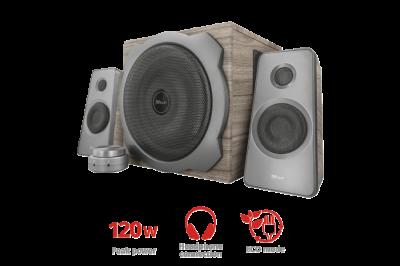 Акустична система Trust Tytan 2.1 Speaker Set - wood(23290)